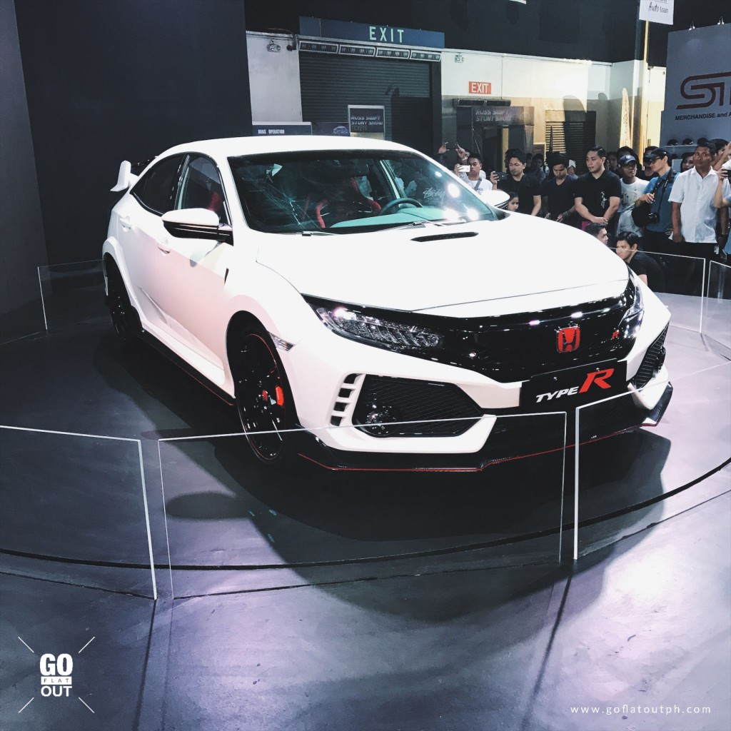 honda civic type r now for sale in the philippines go flat out. Black Bedroom Furniture Sets. Home Design Ideas