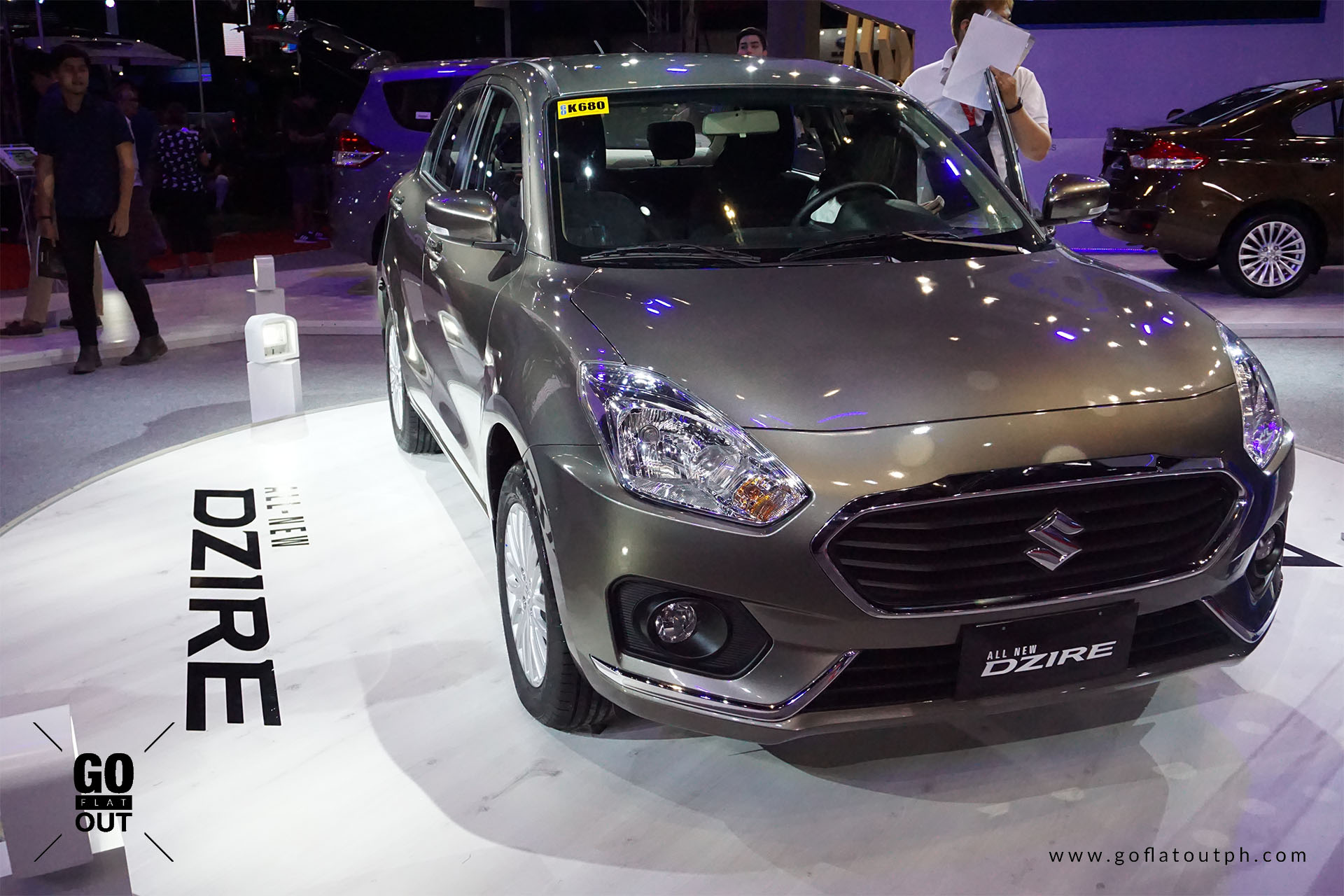 Suzuki Philippines Gives A Preview Of The Dzire Small Sedan Go