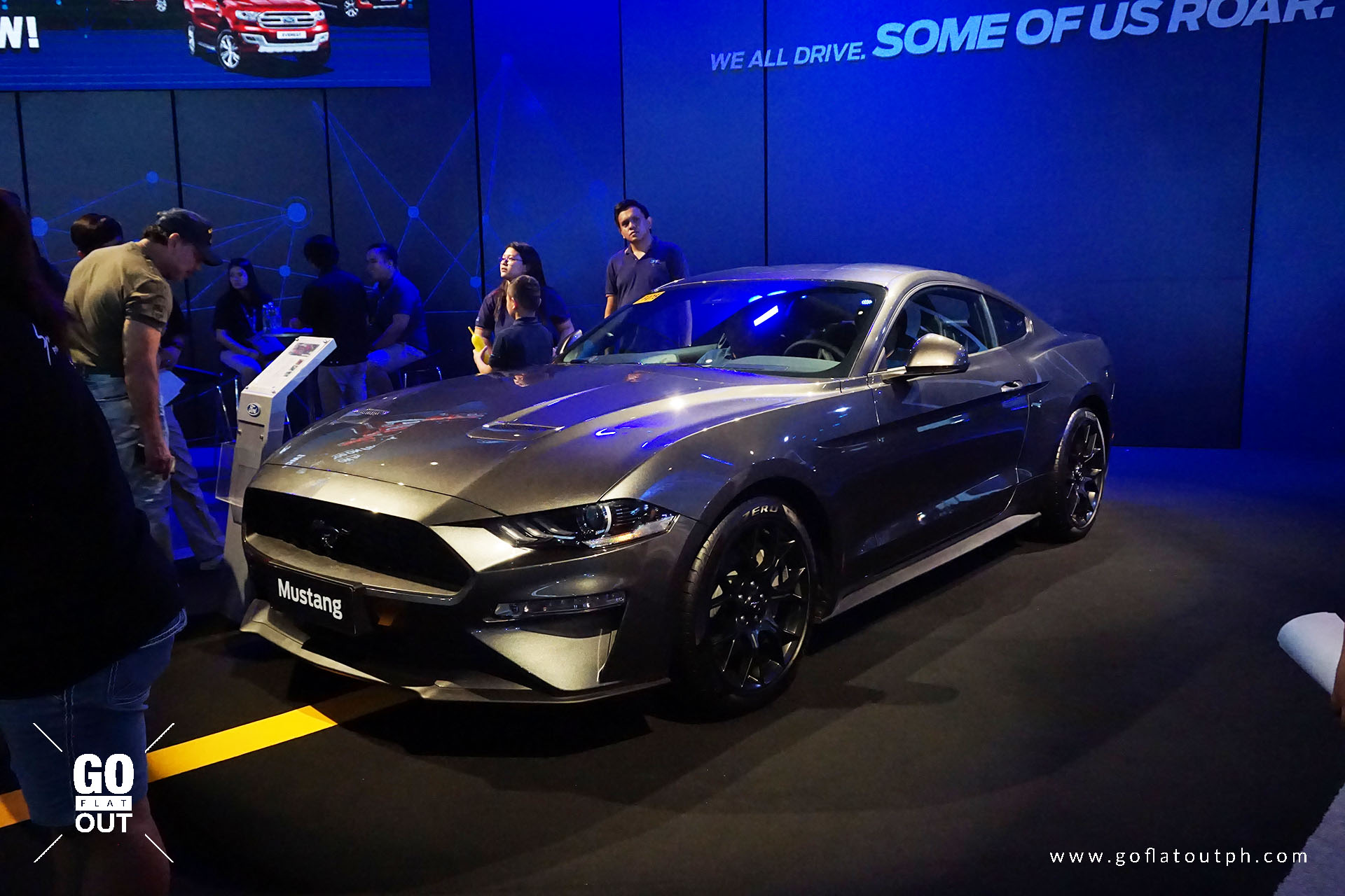 The new mustangs new looks are conveyed through a sharp yet aggressive new design that stays true to its long standing heritage