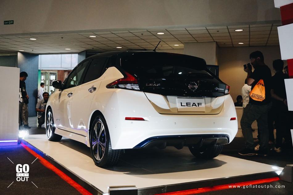 2019 Nissan Leaf Exterior