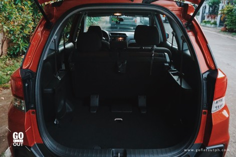 2018 Honda Mobilio RS Trunk Space