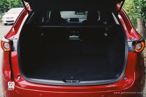 2018 Mazda CX-5 2.5 AWD Trunk Space