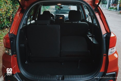 2018 Honda Mobilio RS Trunk Space