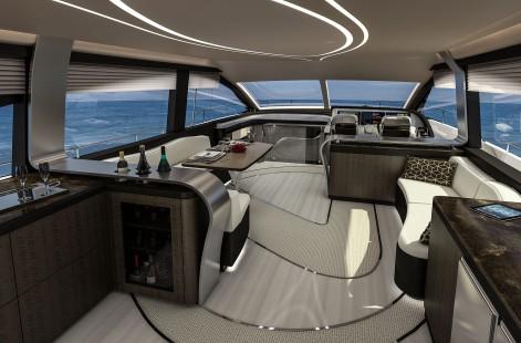 LY 650 Lexus Yacht Salon Image 2