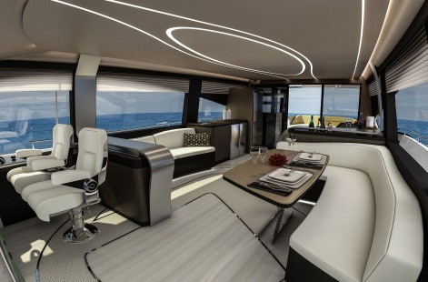 LY 650 Lexus Yacht Salon Image3