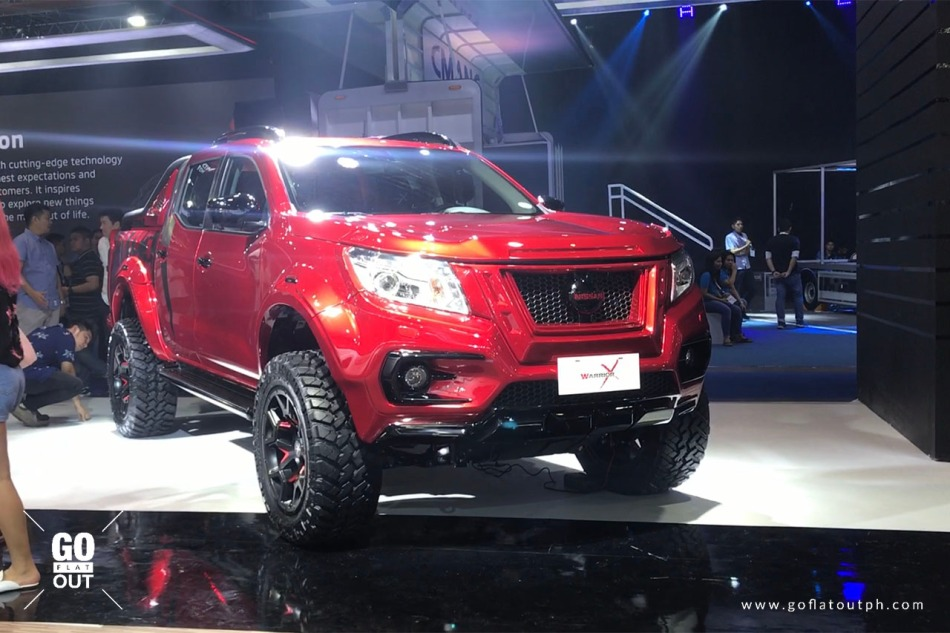 2018 Pims Nissan Terra S And Navara Warrior X Are A Showcase Of