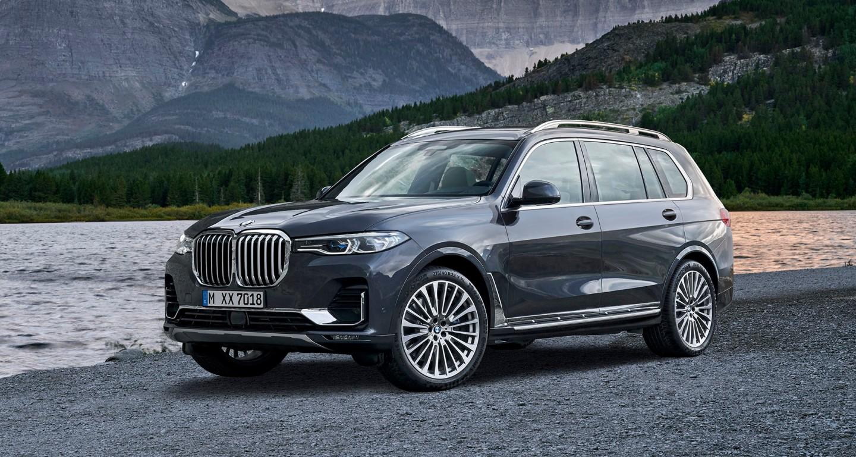 BMW X7 Unveiled