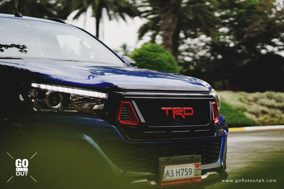 2018 Toyota Hilux Conquest TRD Grille