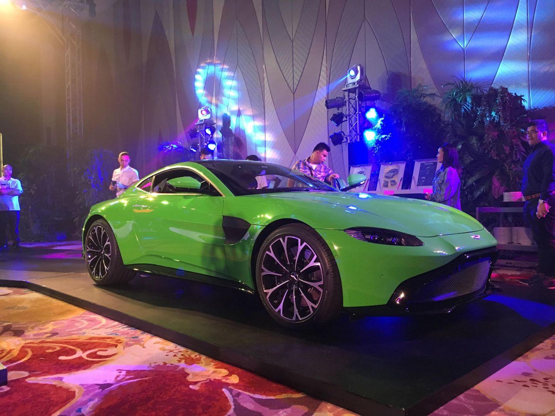 Aston Martin Vantage Exterior