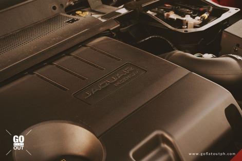 2018 Jaguar E-Pace R-Dynamic Engine
