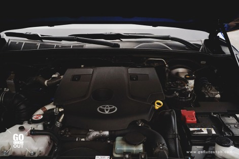 2018 Toyota Hilux Conquest Engine