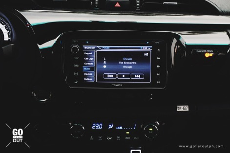 2018 Toyota Hilux Conquest Infotainment