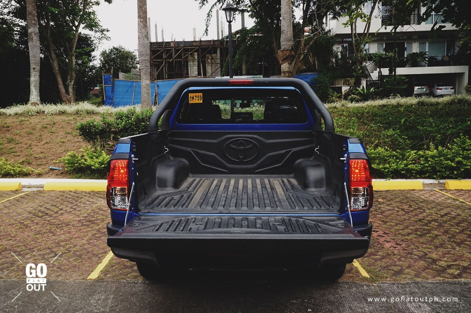 2018 Toyota Hilux Conquest Bed Size