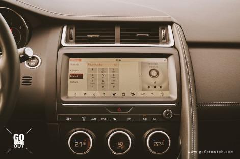 2018 Jaguar E-Pace R-Dynamic Infotainment