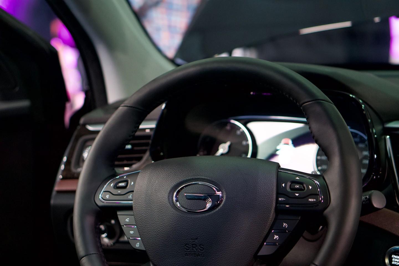 GAC GS8 Interior
