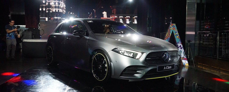 2019 Mercedes-Benz A-Class Philippine Launch