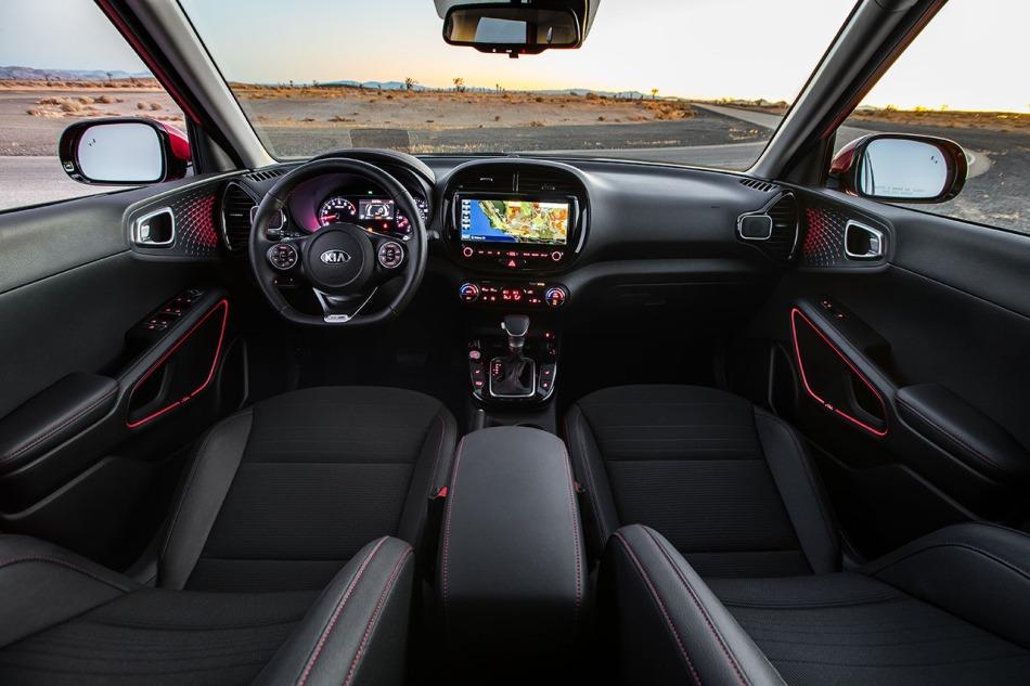 2020 Soul GT-Line Interior