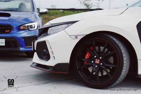 2018 Honda Civic Type R versus 2018 Subaru WRX STI