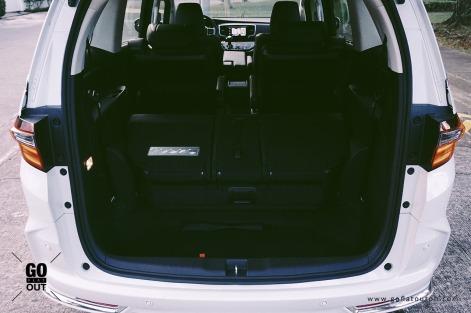 2018 Honda Odyssey EX-V Navi Trunk Space