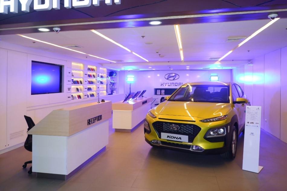 Hyundai City Store Cebu Is A Highly Digital Car Dealership Inside A Mall
