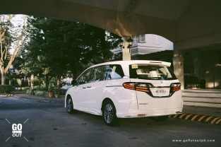 2018 Honda Odyssey EX-V Navi Exterior