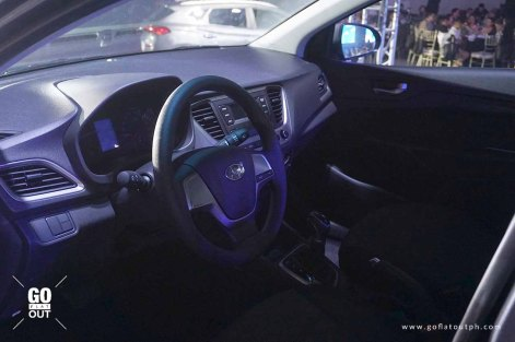 2019 Hyundai Accent Interior