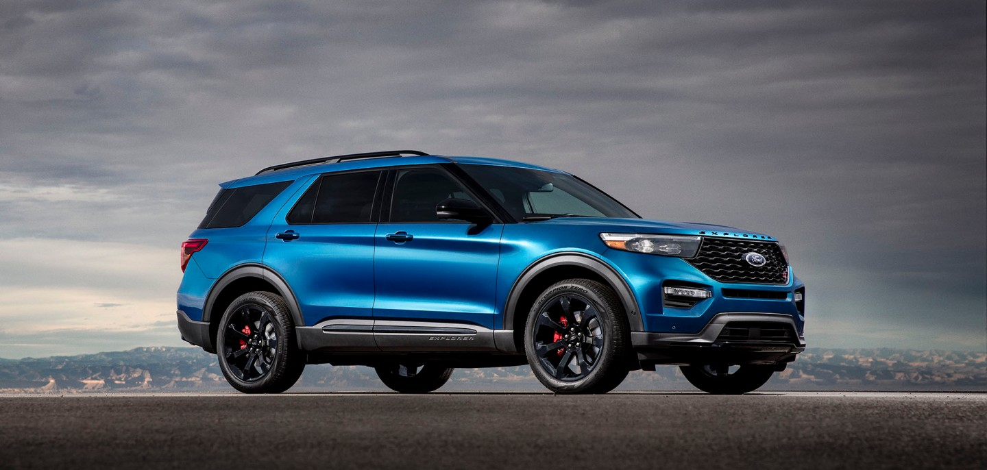 2020 Ford Explorer ST Has 400 HP While Explorer Hybrid Has 804 Kilometer Range