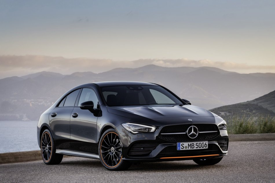 2020 Mercedes-Benz CLA Exterior