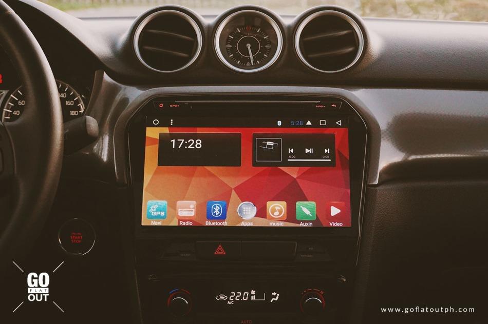 2018 Suzuki Vitara GLX Infotainment