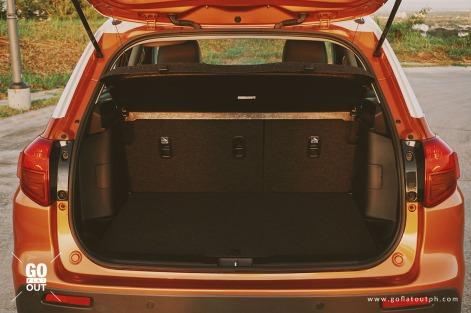 2018 Suzuki Vitara GLX Trunk Space