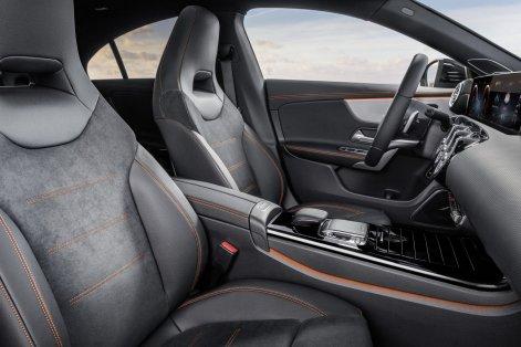 2020 Mercedes-Benz CLA Interior