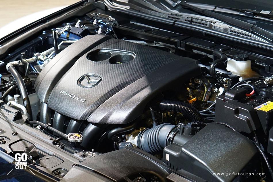 2019 Mazda 3 Sedan Engine
