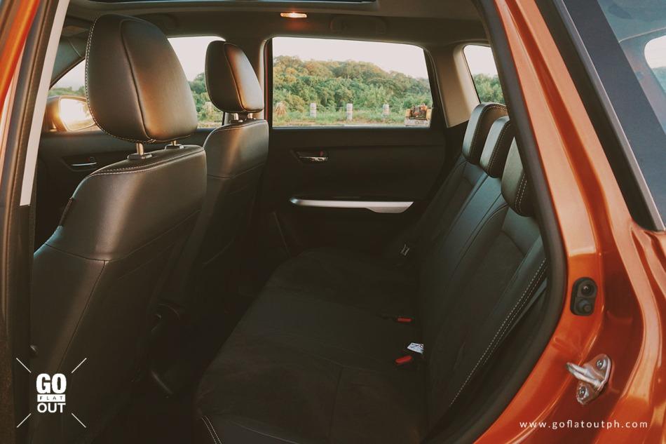 2018 Suzuki Vitara GLX Interior