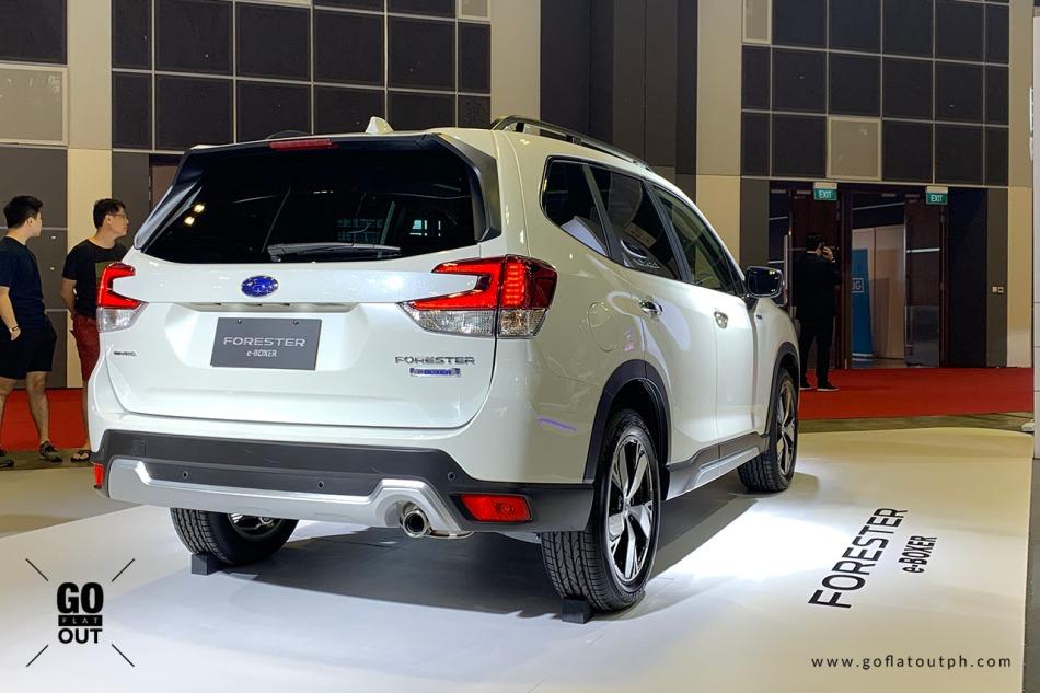 2019 Subaru Forester e-Boxer Exterior