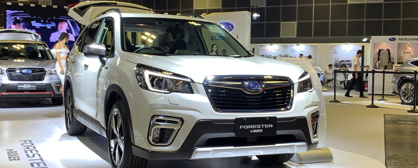 The First Ever Subaru Forester e-Boxer Hybrid Makes Its ASEAN Debut