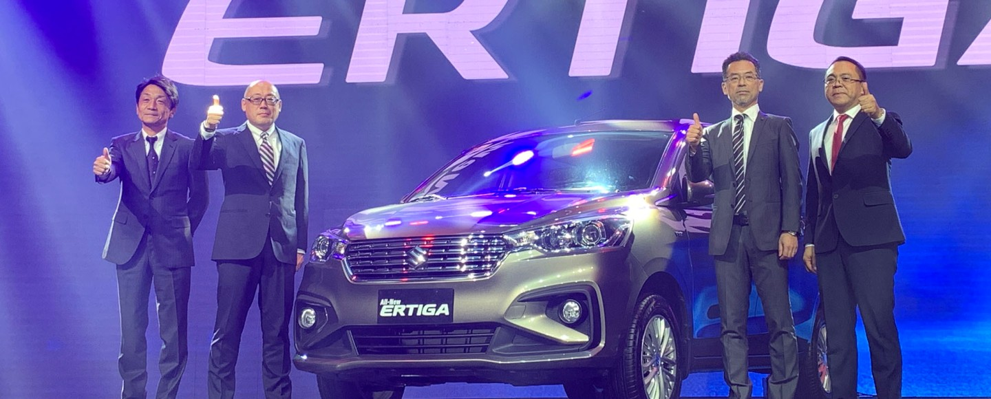 All-New 2019 Suzuki Ertiga Flaunts Its Sharp Design With P728K Starting Price