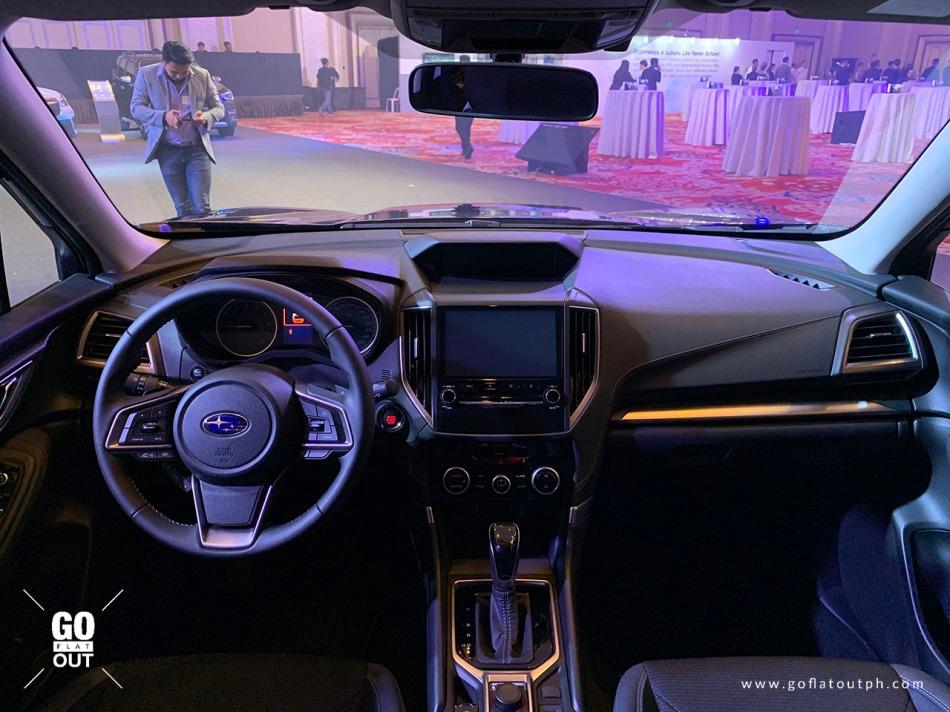2019 Subaru Forester 2.0i-L Interior