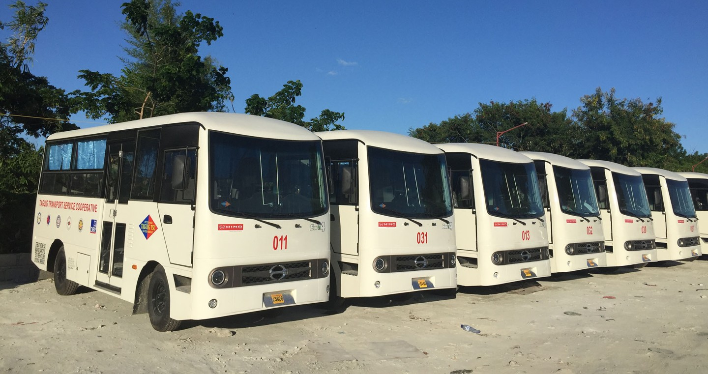 Commuters and Drivers Enjoy The Benefits Of Hino's Modern Jeepney