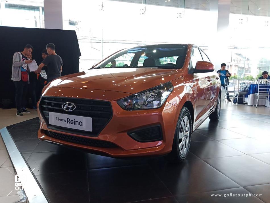 2019 Hyundai Reina 1.4 GL Exterior