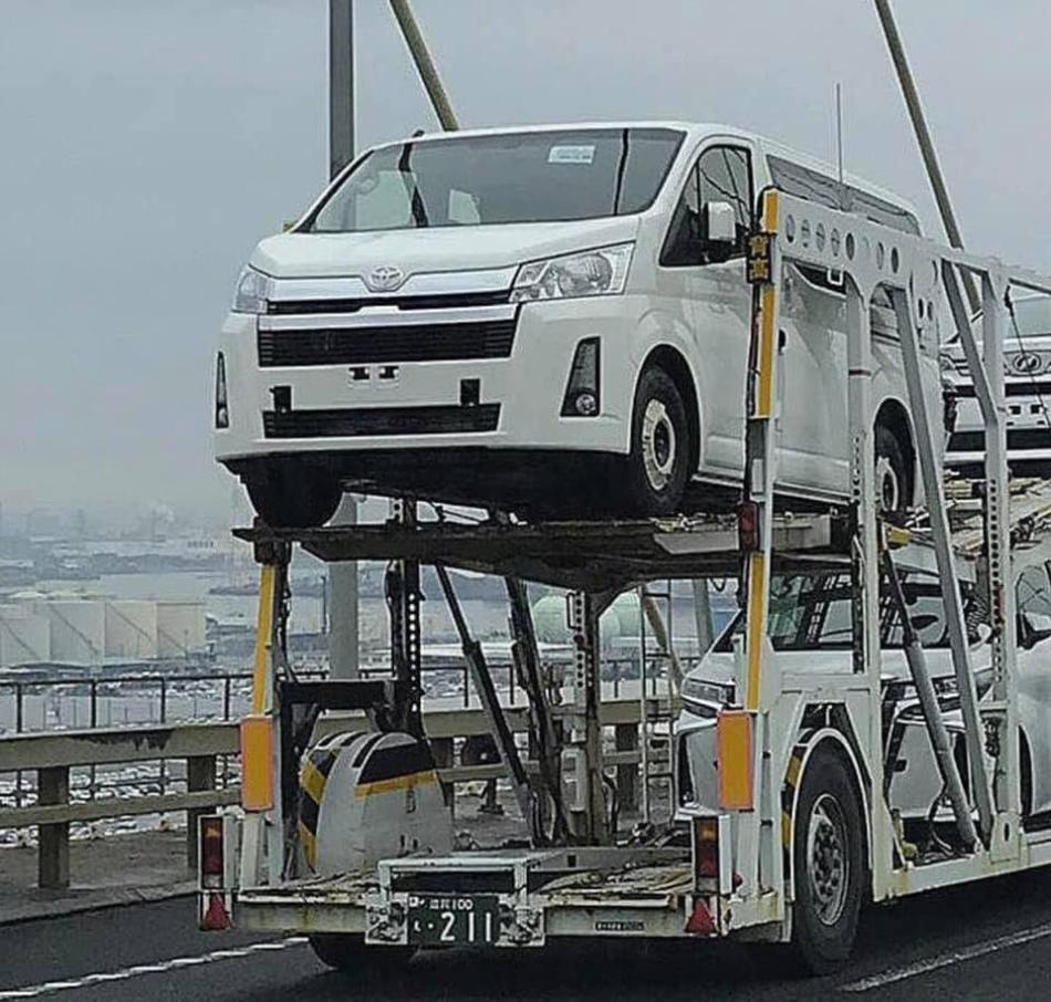 2020 Toyota Hiace Spied Undisguised In Japan