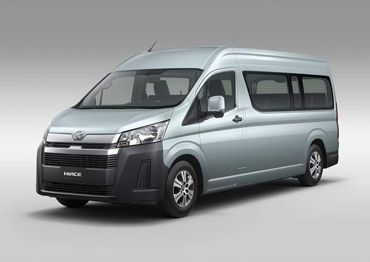 2020 Toyota Hiace Leaked: This Is The 13-Seater Version Of It!