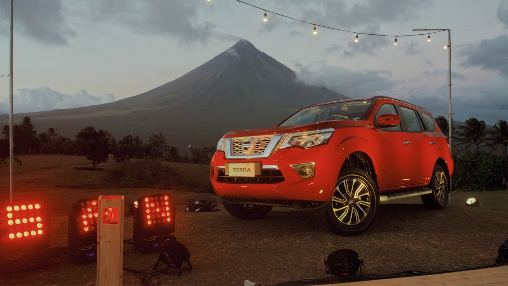 Catriona Gray Will Love The Nissan Terra VL's Limited Edition Fiery Red Color