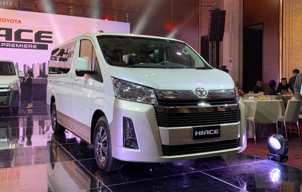 2020 Toyota Hiace Celebrates Its World Premiere In Manila With P1.590M Starting Price