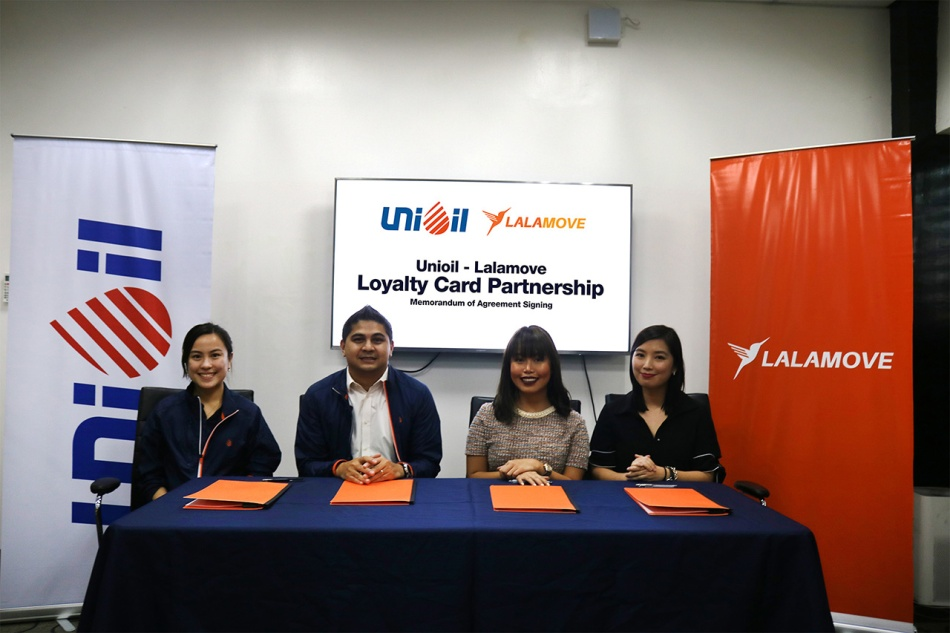 Lalamove Partner Drivers Will Soon Enjoy Exclusive Perks And Rewards From Unioil