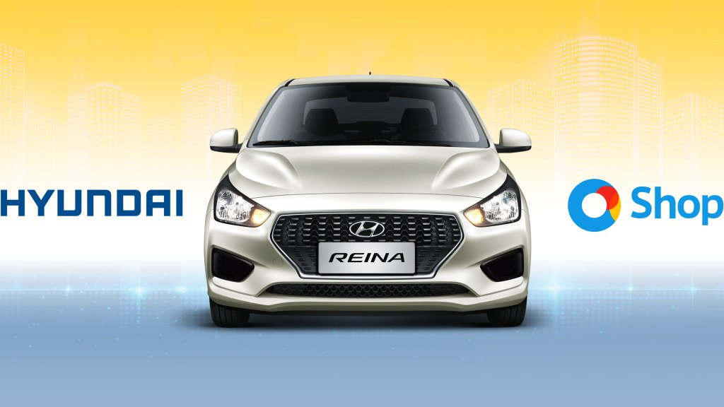 You Can Now Buy The All-New Hyundai Reina Through O Shopping