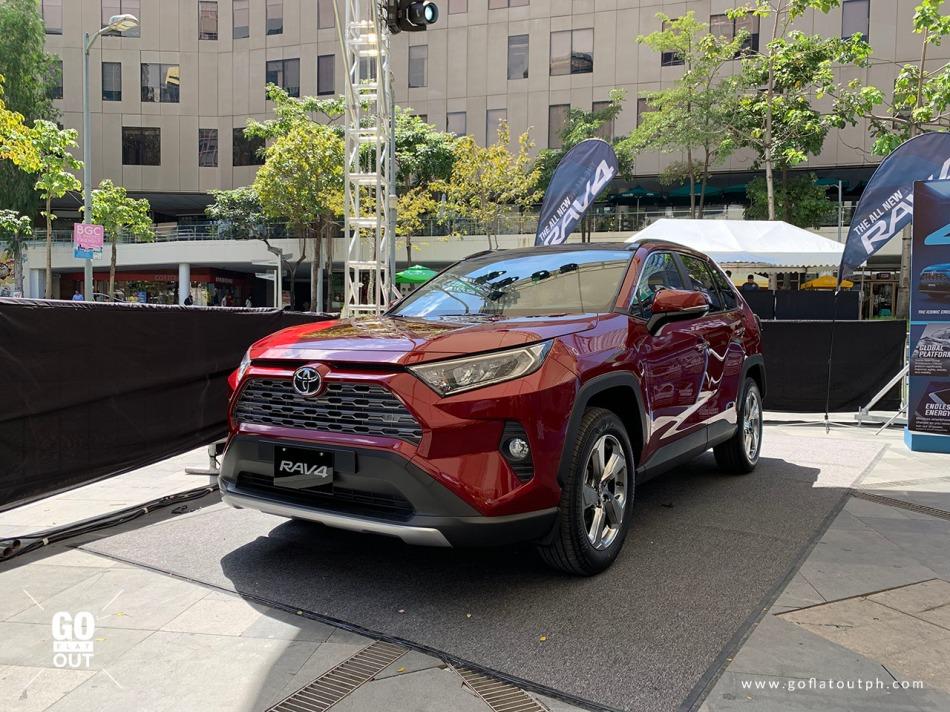 2019 Toyota RAV4 Limited Exterior