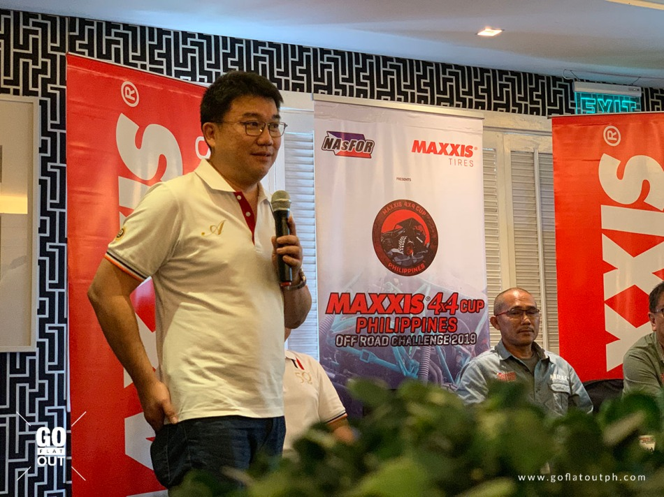 MAXXIS Tires, Chief Operating Officer Ronald Ang