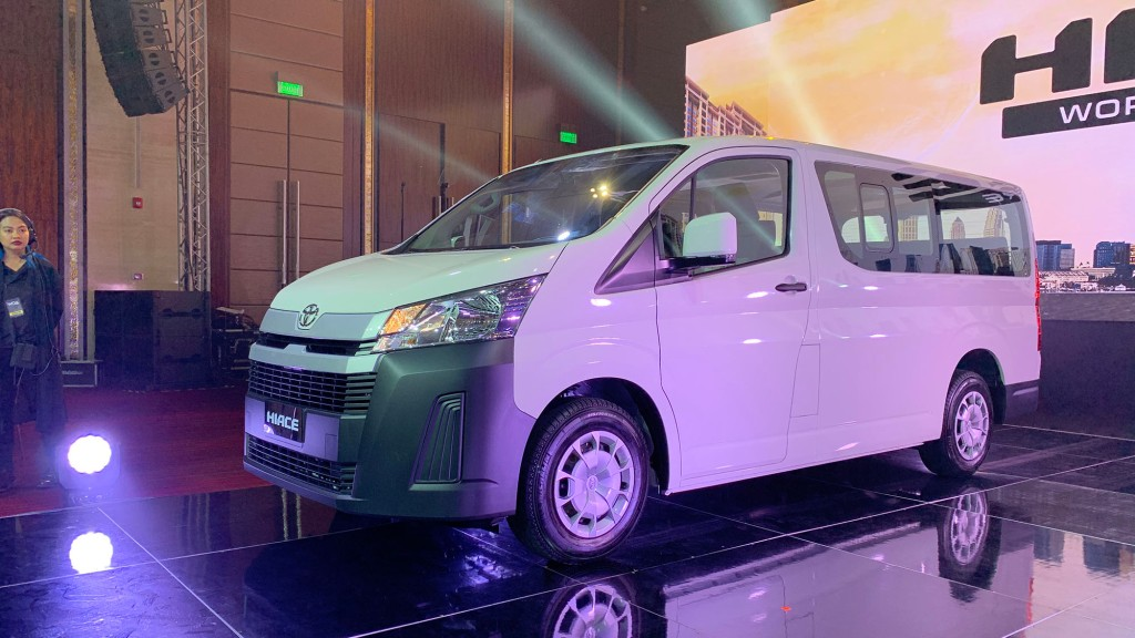Why Did Toyota Choose To Globally Launch The All-New Hiace In The Philippines?