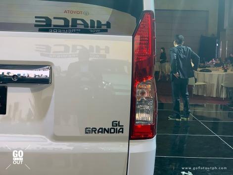 2020 Toyota Hiace GL Grandia Exterior