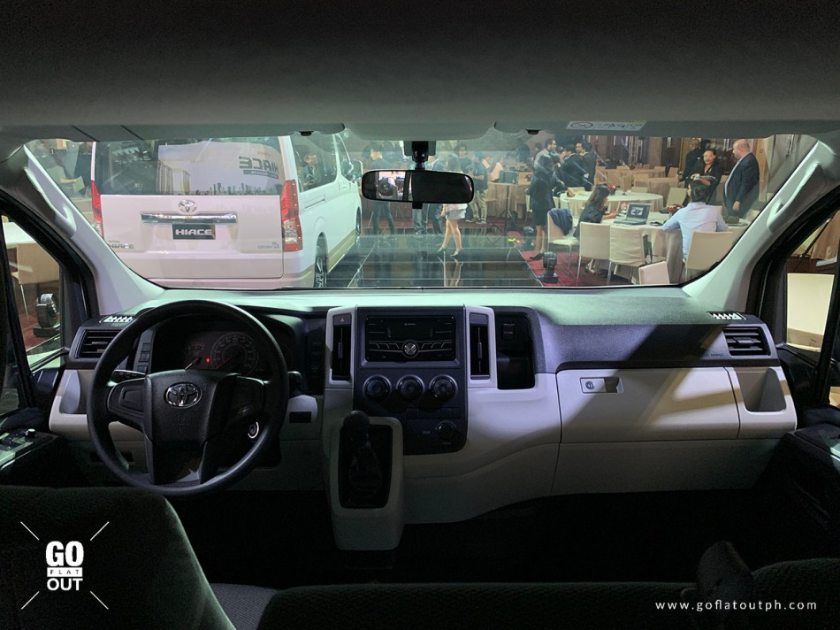 2020 Toyota Hiace Commuter Deluxe Interior